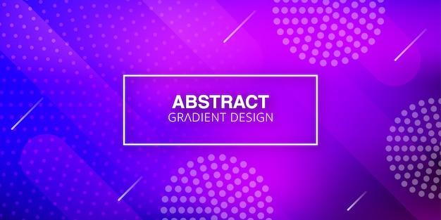 Fond géométrique abstrait violet