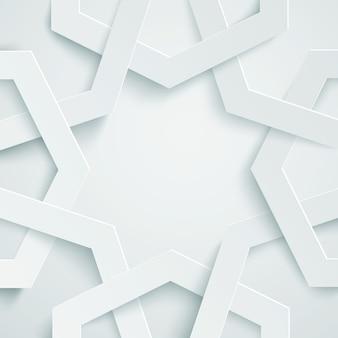 Fond géométrique arabe