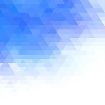 Fond géométrique bleu moderne
