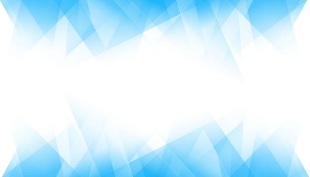 Fond géométrique bleu