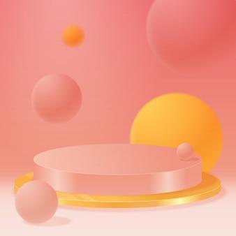 Fond géométrique coloré. composition de formes dégradées à la mode. design de fond cool pour les affiches. illustration vectorielle