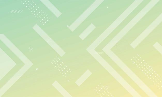 Fond géométrique coloré. composition de formes dynamiques avec dégradé futuriste