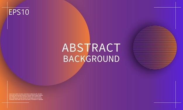 Fond géométrique. conception de couverture abstraite minimale. fond d'écran coloré créatif. affiche dégradée à la mode. illustration vectorielle.