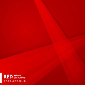 Fond géométrique de couleur rouge dégradé de noël