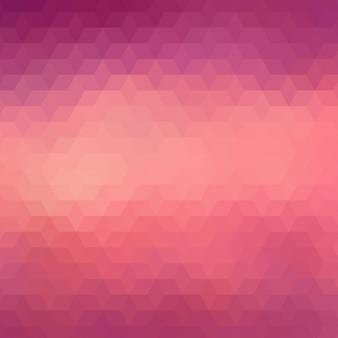 Fond géométrique dans des tons rouge et violet