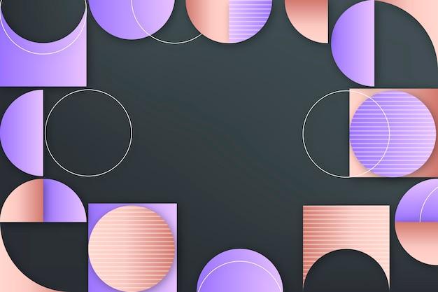 Fond géométrique dégradé