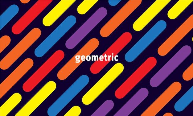 Fond géométrique dynamique