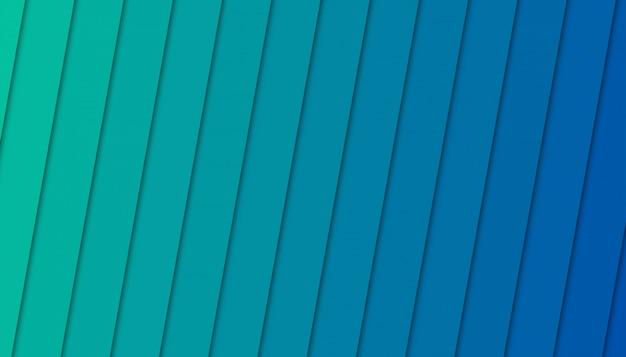 Fond géométrique avec des formes découpées en papier