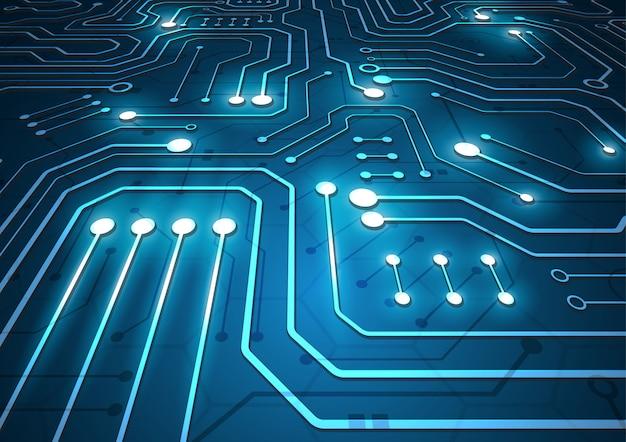 Fond géométrique de haute technologie