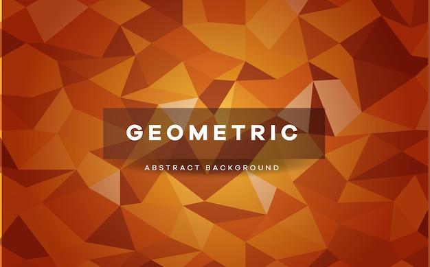 Fond géométrique low poly