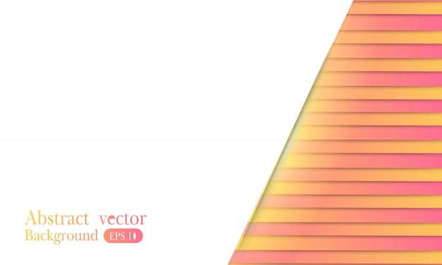 Fond géométrique minimal coloré.