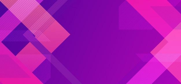 Fond géométrique minimal avec lignes minimaliste triangle