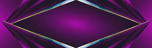 Fond géométrique moderne coloré. abstract vector background pour la conception de bannières ou d'affiches