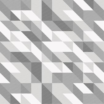 Fond géométrique noir et blanc