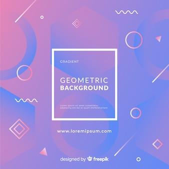 Fond géométrique original