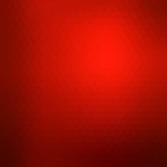 Fond Géométrique Rouge Vecteur gratuit