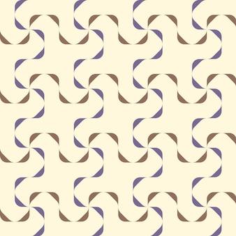 Fond géométrique sans soudure.