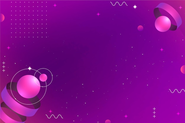 Fond géométrique violet technologie