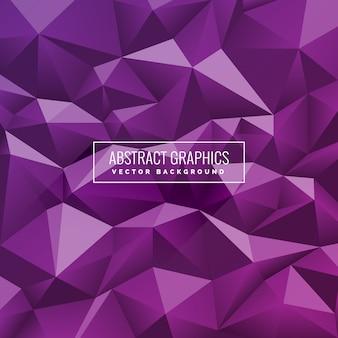Fond géométrique violet