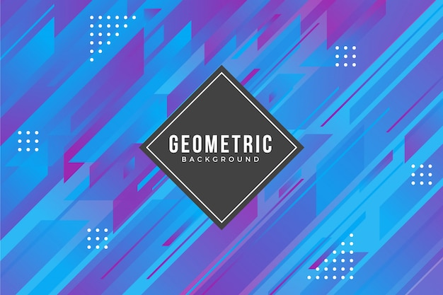 Fond géométrique