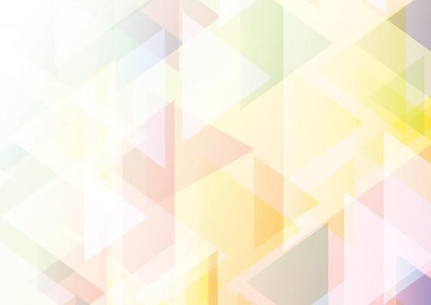 Fond de gradient pastel low poly