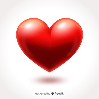 Fond grand coeur