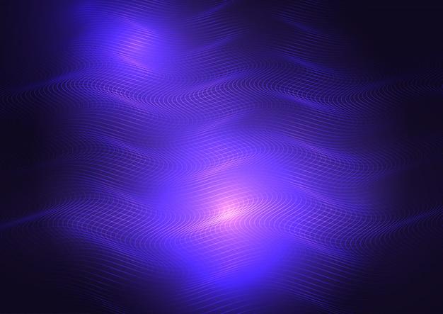 Fond de grille abstraite techno