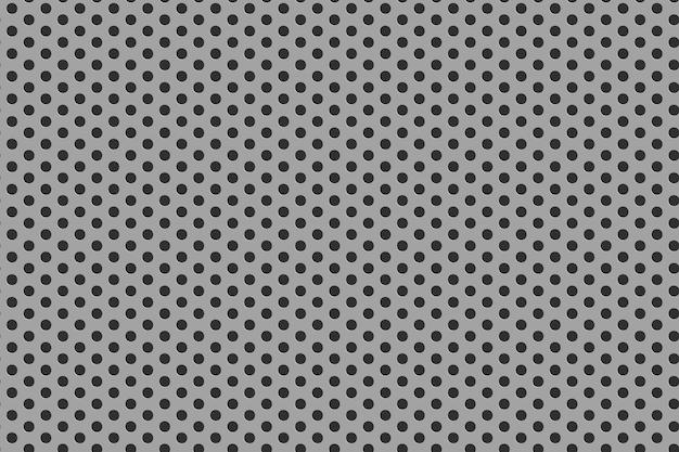 Fond de grille en acier