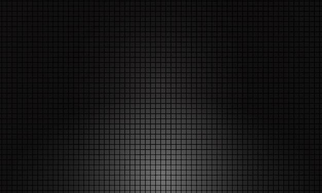 Fond de grille carrée sombre