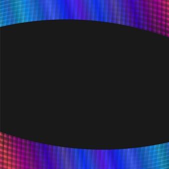 Fond de grille géométrique dynamique - graphique vectoriel à partir de lignes angulaires courbes