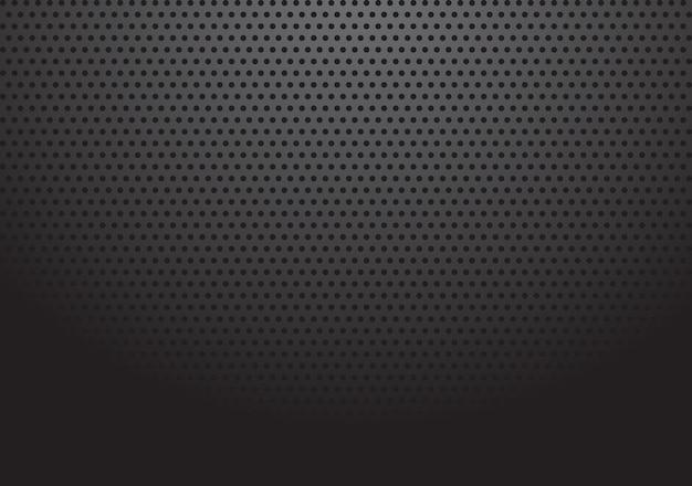 Fond de grille avec illustration de motif de point de point