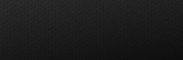 Fond de grille de trous minimalistes surface d'ornement abstraite avec entrelacs noir rond