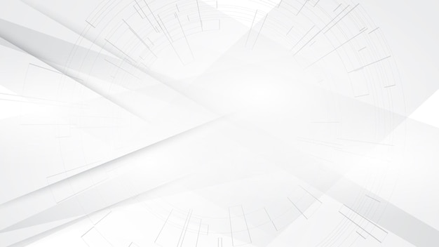 Fond gris blanc abstrait design moderne