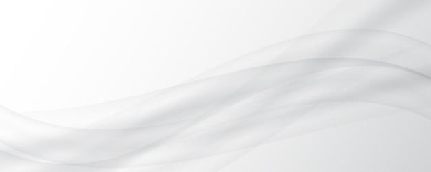 Fond gris blanc abstrait fond de satin de soie blanc fond de texture lisse vague