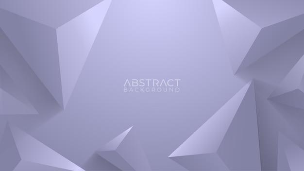 Fond gris avec élément géométrique
