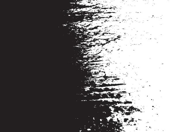 Fond grunge noir et blanc