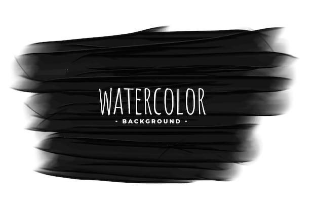 Fond grunge de texture aquarelle noire