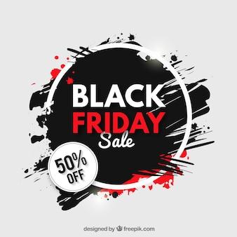Fond grunge des ventes vendredi noir
