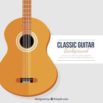 Fond de guitare classique