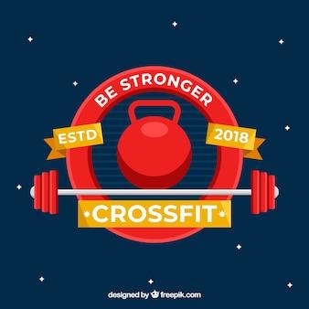Fond de gym avec une phrase inspirante