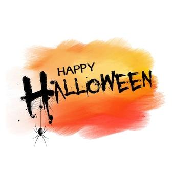 Fond d'halloween avec araignée