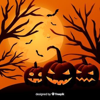 Fond de halloween belle