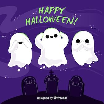 Fond de halloween créatif