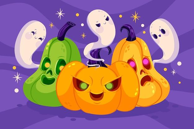 Fond d'halloween dégradé