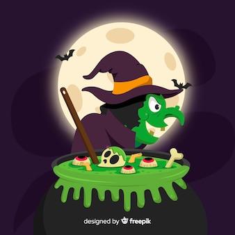 Sorcière Chaudron De Halloween Télécharger Icons Gratuitment