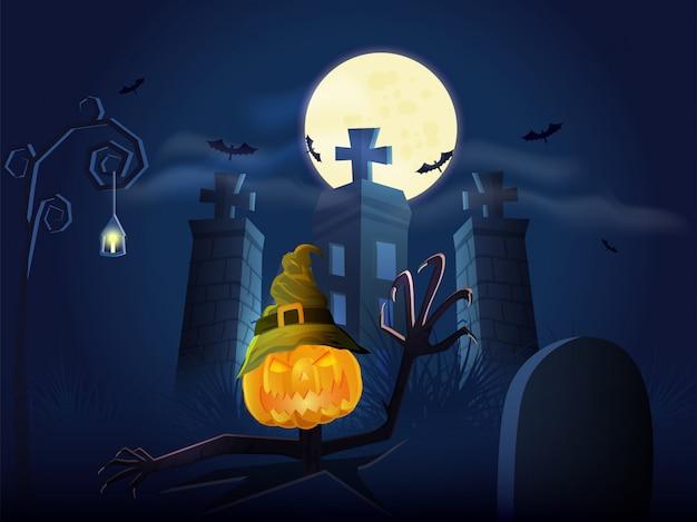 Fond d'halloween heureux.