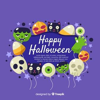 Fond de halloween heureux