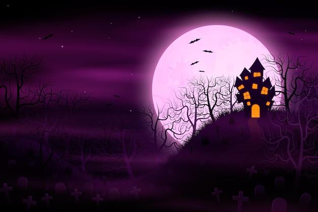 Fond d'halloween réaliste