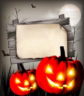 Fond d'halloween.