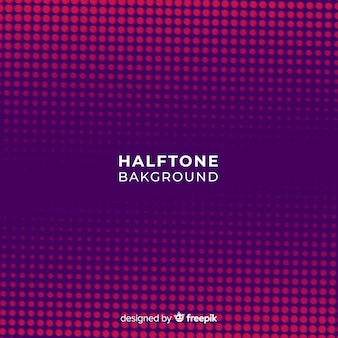 Fond haltone